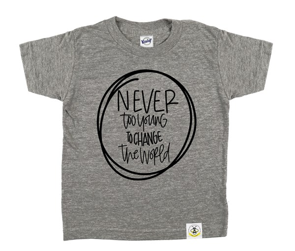 Never Too Young (Grey)