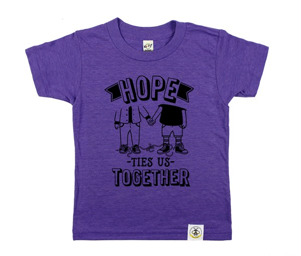 Hope Ties Us Together (Purple)