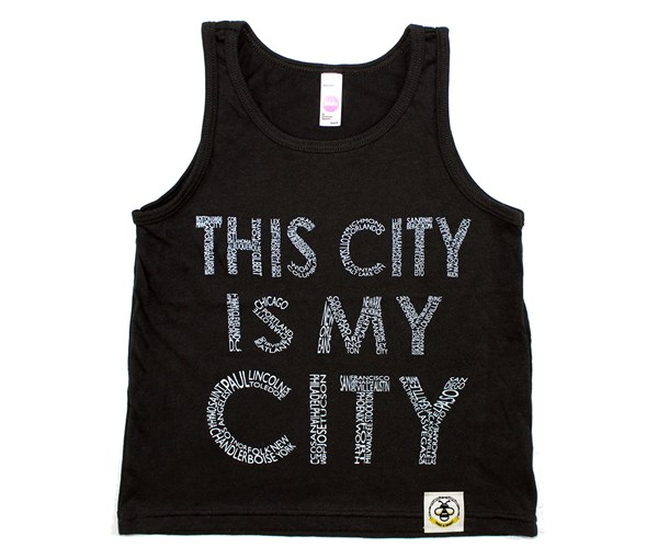 This City Tank (Black)