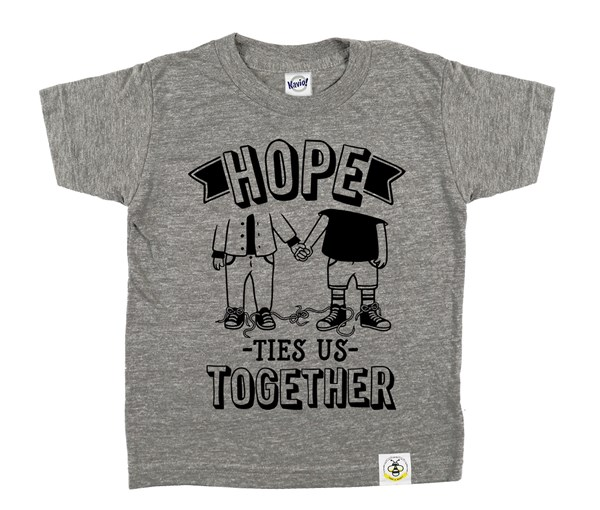 Hope Ties Us Together (Grey)