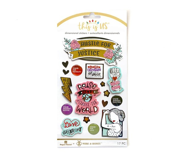 This is Us/Wire and Honey Embellished Stickers