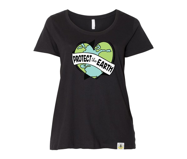 Protect the Earth Plus Size (Black)