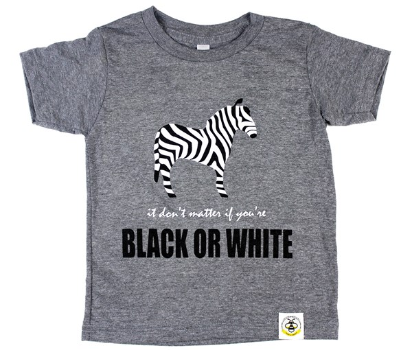 Black or White (Grey Tee)