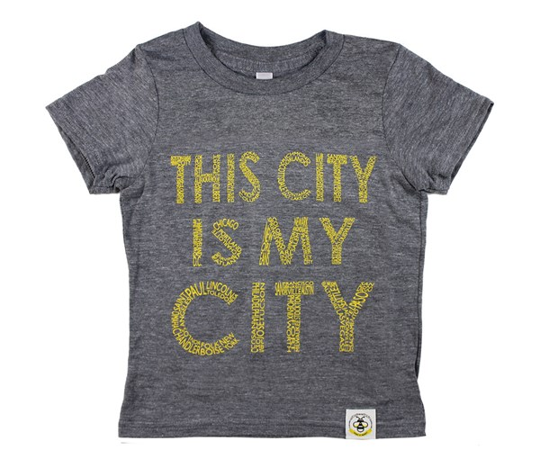 This City (Yellow Text)