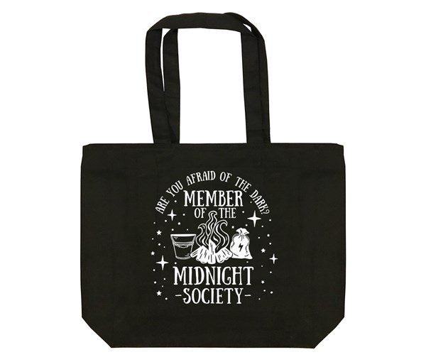 Midnight Society Tote (Black)