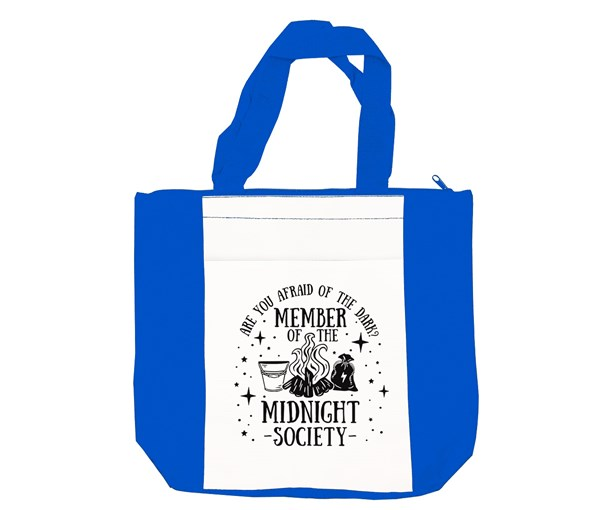 Midnight Society Tote (Blue/White)