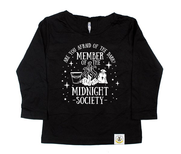 Midnight Society Hooded Tee (Black)