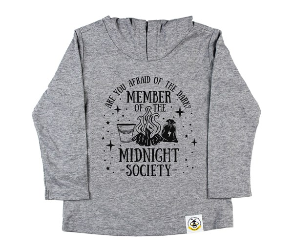 Midnight Society (Kids Hooded Tee)