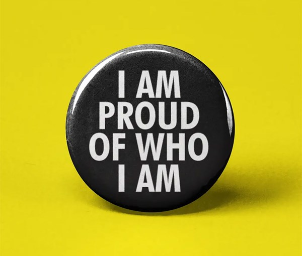 I Am Proud Pin-back Button