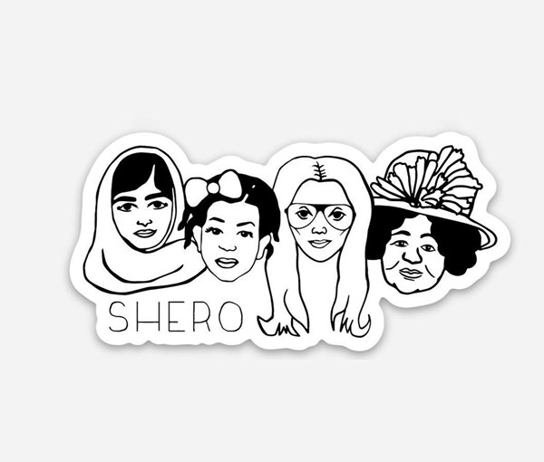 Shero Vinyl Sticker
