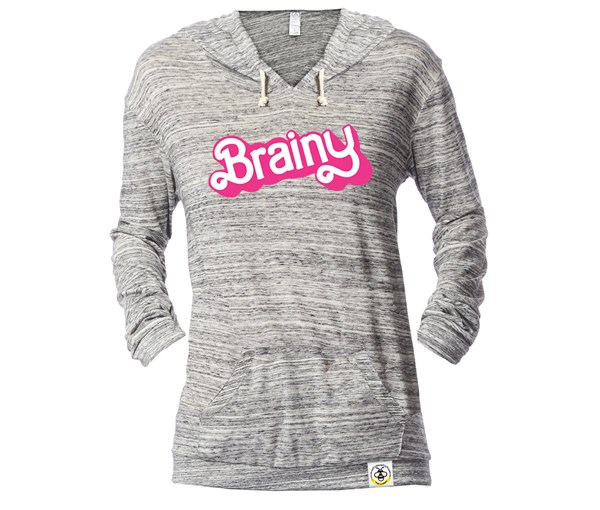 Brainy Lightweight Fitted Hoodie