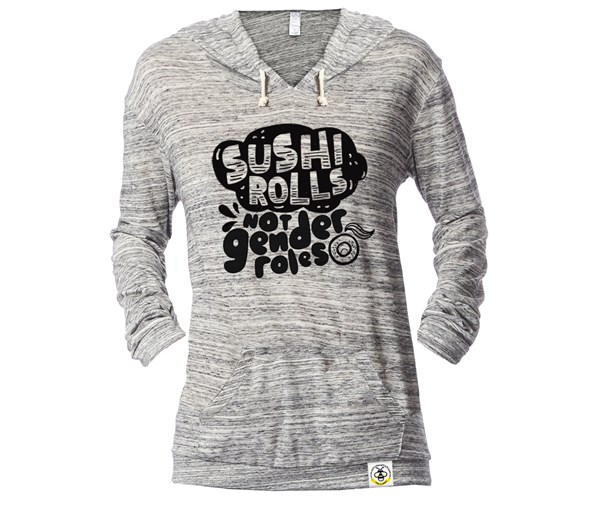 Sushi Rolls Lightweight Fitted Hoodie