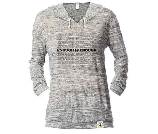 Enough Lightweight Fitted Hoodie