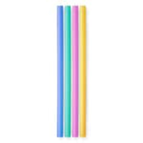 Silicone Straw 4 Pack (Standard Size)