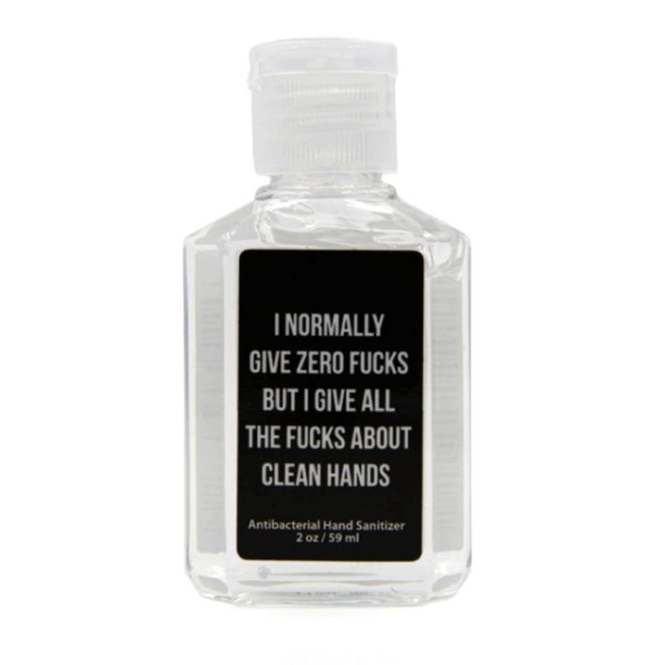 Zero Fucks Hand Sanitizer (2 oz)