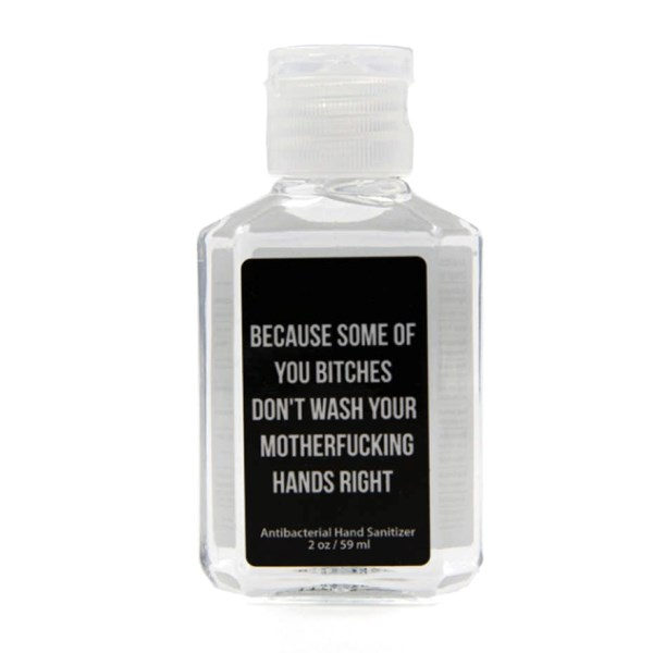 Wash Your Motherfucking Hands Hand Sanitizer (2 oz)