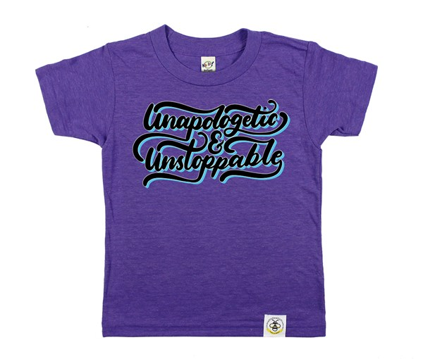 Unapologetic and Unstoppable (Purple)