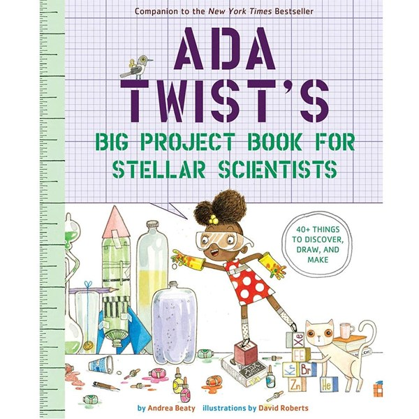 Ada Twist's Big Project Book for Stellar Scientists
