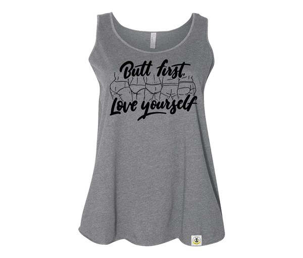 Butt First (Plus Size Tanks)
