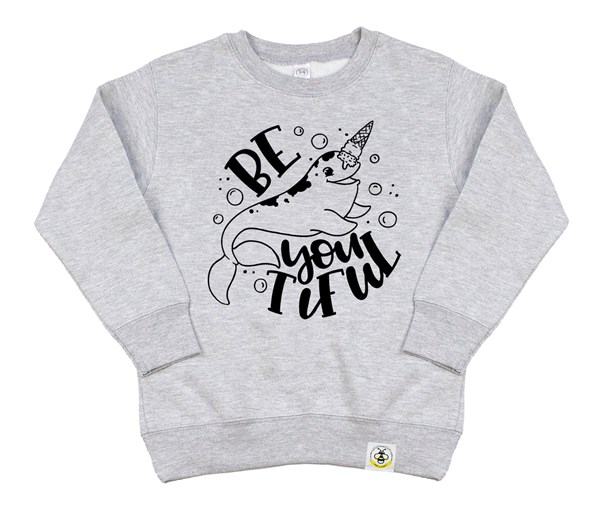 Be-YOU-tiful (Kids Sweatshirt)