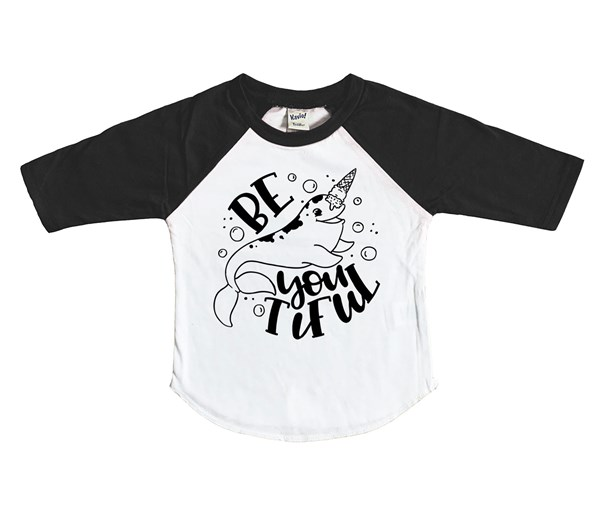 Be-YOU-tiful (Kids Raglan)