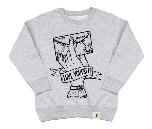 Love Yourself (Kids Sweatshirt)