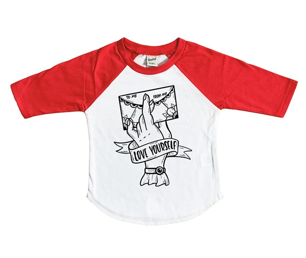 Love Yourself (Kids Raglan)