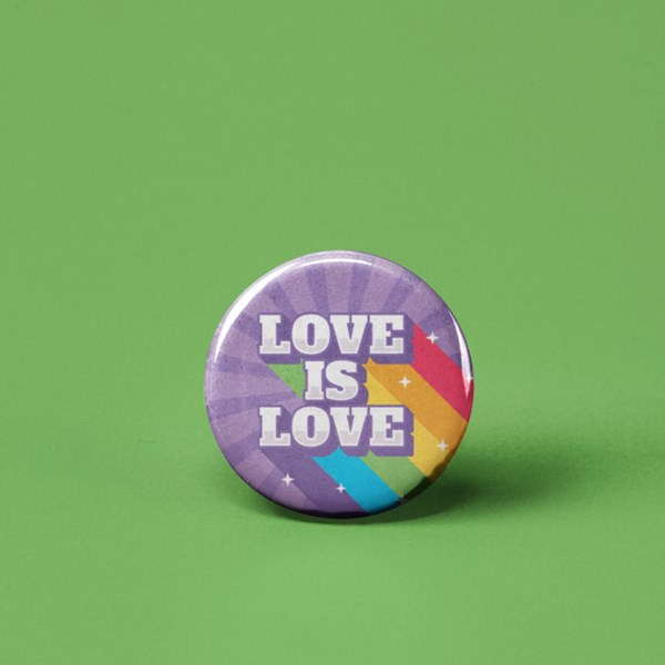 Love is Love Pin-back Button