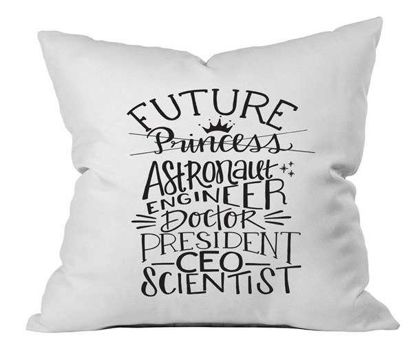 Future Pillow Case  (White/Black)