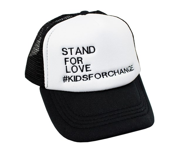 Stand For Love Trucker Hat (Toddlers/Kids)
