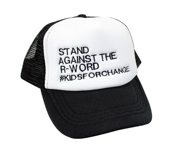 Stand Against the R-Word Trucker Hat (Toddlers/Kids)