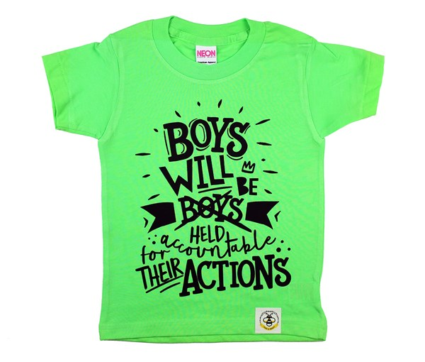 Boys Will Be (Neon Green)
