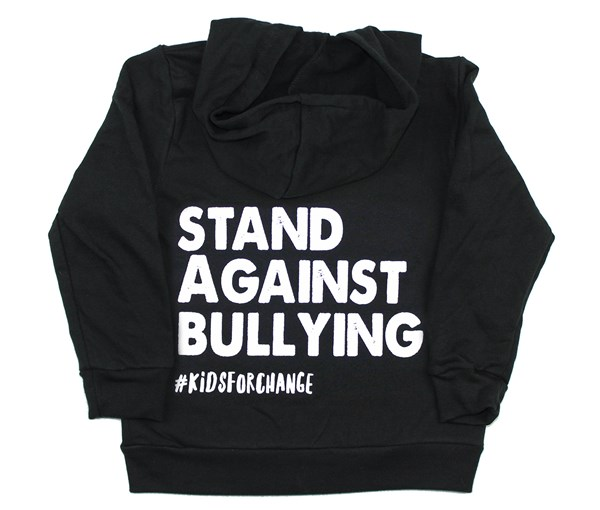 Stand Against Bullying Zippered Hoodie