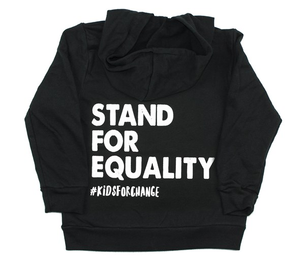 Stand for Equality Zippered Hoodie