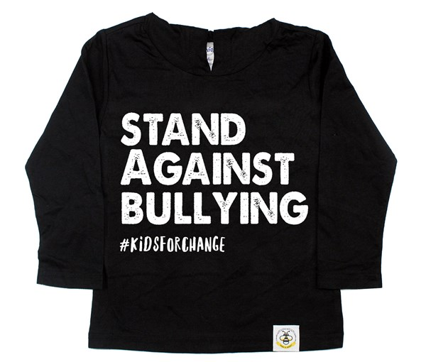 Stand Against Bullying Long Sleeved Hooded Tee