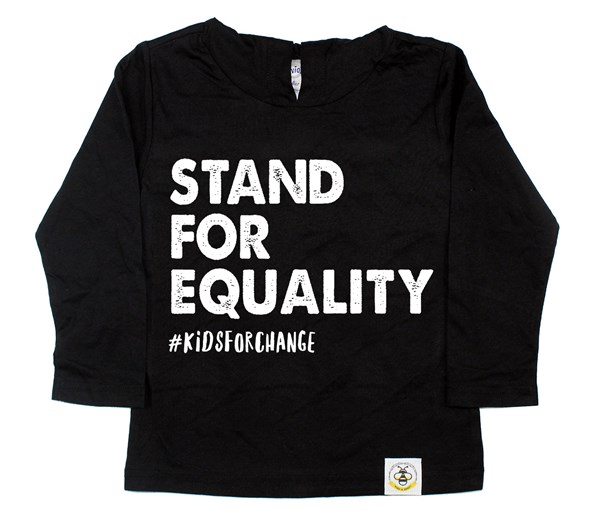 Stand for Equality Long Sleeved Hooded Tee
