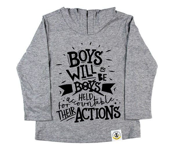 Held Accountable Long Sleeved Hooded Tee