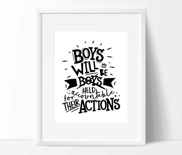 Boys Will 8x10 Print (Print Only)