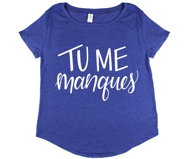 Tu Me Manques (Vintage Royal)