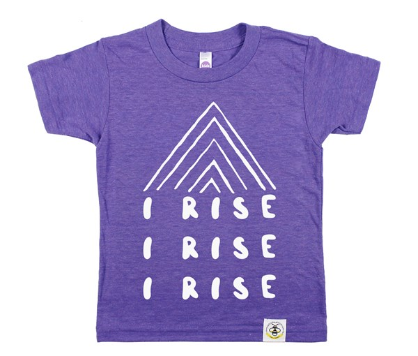 I Rise Kids Tee (Orchid)