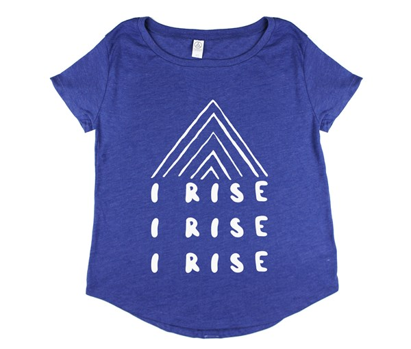 I Rise Women's Tee (Vintage Royal)