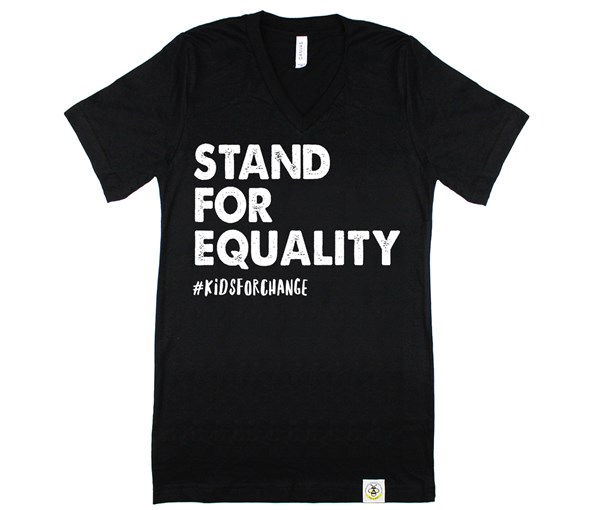 Stand for Equality Adult Unisex (Black)