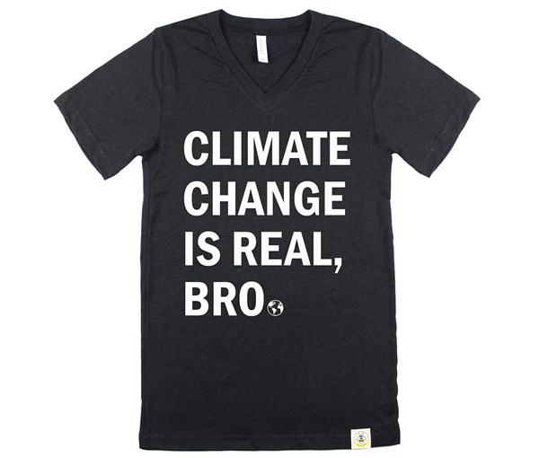 Climate Change Adult Unisex (Heathered Black)