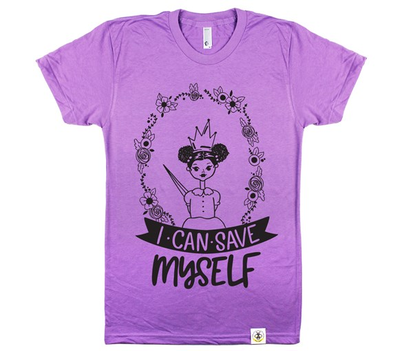Save Myself--Puffs Unisex Adult (Orchid)