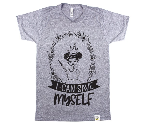 Save Myself--Puffs Unisex Adult (Grey)