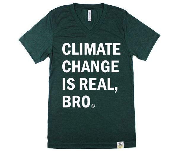 Climate Change Adult Unisex (Green)