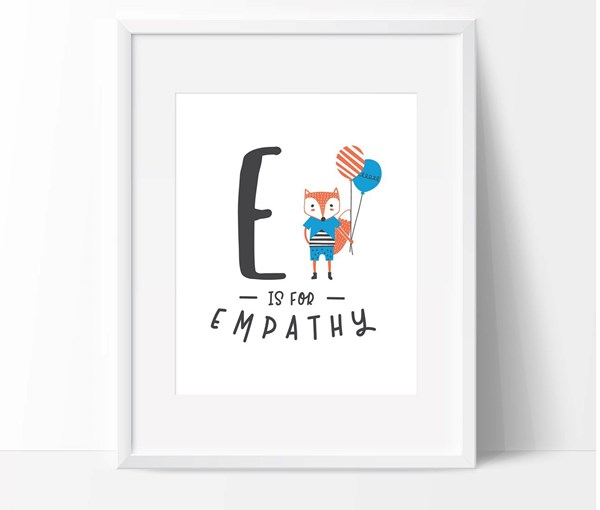 E is for Empathy (Print Only)