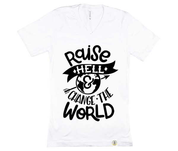 Raise Hell Adult Unisex (White)