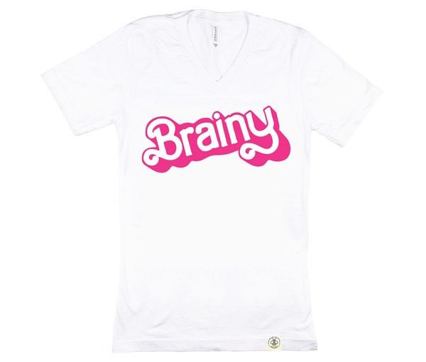 Brainy Adult Unisex (White)