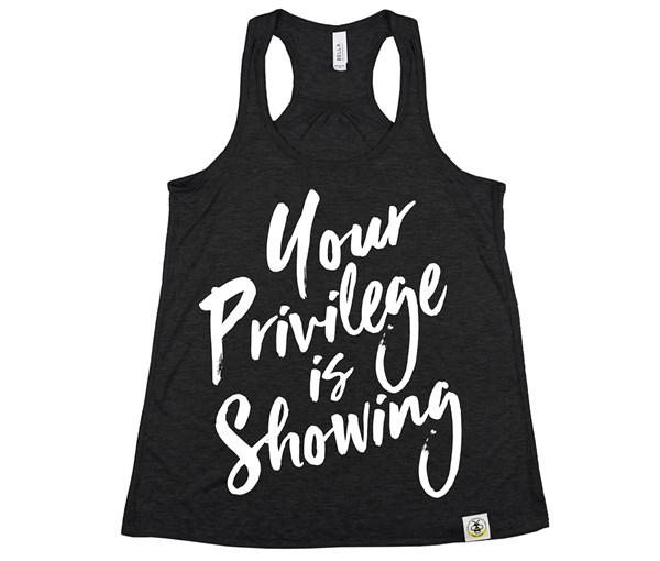Privilege (Women's Tank) - Heather Black